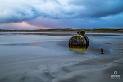 January Blues (Impact Imagz) Tags: sea beach scotland sand rust seascapes decay shipwreck fishingboat gress seashore westernisles boiler ruraldecay sandart isleoflewis outerhebrides scottishislands glenesk gressbeach