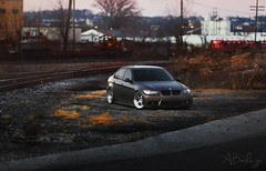 Dusk. (Andrew Barshinger Photography) Tags: train wrap pa bmw stance