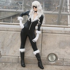 2015-03-13 S9 JB 86766#coQ4ht10 (cosplay shooter) Tags: anime blackcat comics comic cosplay michelle spiderman manga leipzig cosplayer rollenspiel roleplay lbm 300x 100b feliciahardy leipzigerbuchmesse 2015016 x201601 id219298 nordblut 2015142