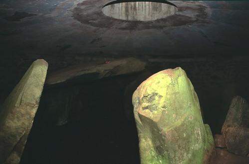 Burial chamber of Barclodiad y Gawres