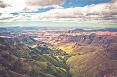 View of Drakensberg Escarpment, South Africa (terbeck) Tags: africa mountains nature southafrica nikon cliffs hills ridge afrika sdafrika drakensberg drakensberge d90 royalnatalnationalpark terbeck
