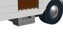 LEGO Large Scale Caravan (RS 1990) Tags: vintage lego large retro features trailer caravan rv camper moc ldd digitaldesigner