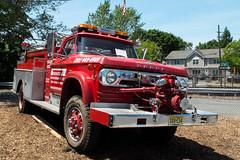 Vintage Red Dodge Fire Truck (ho_hokus) Tags: truck vintage newjersey nj autoshow firetruck dodge carshow 2015 waldwick bergencounty fujix20 fujifilmx20 waldwickcarshow2015