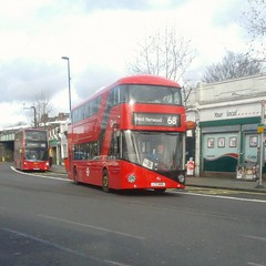 Norwood's first LT route: Go-Ahead London LT680 LTZ1680 on route 68 to West Norwood (Unorm001) Tags: west bus london buses ahead general hill go central route routes norwood towards herne 68 1680 goahead ltz lt680 ltz1680