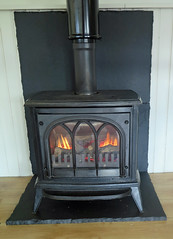 Sit By The Fire (Katie_Russell) Tags: ireland fire flames flame stove northernireland ni ulster nireland norniron coleraine countylondonderry countyderry coderry colondonderry colderry crannagh countylderry
