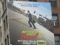Better Call Saul Building Billboard 5956 (Brechtbug) Tags: show street new nyc walter white signs man building bus face its television hail yellow wall season for bill tv call king all remember with good name board telephone bad bob billboard advertisement bryan angry billboards actor saul amc avenue 7th better 29th spinoff breaking goodman odenkirk 2016 cranston my 01292016