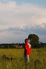 Pastir (Sareni) Tags: trees houses light sky dog house tree dogs colors grass clouds evening spring sam shepherd serbia may psi pas vojvodina coban twop srbija nebo 2014 banat drvo trava prolece boje kuca svetlost kuce oblaci vece drvece pastir alibunar juznibanat sareni