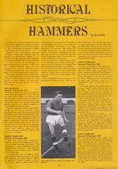 West Ham United vs Everton - 1984 - Page 27 (The Sky Strikers) Tags: park west hammer canon one official kodak united ham division league programme upton everton