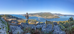 Galicia Its Different (benitojuncal) Tags: de puente banco galicia panoramica ria vigo rias 2015 rande baixas