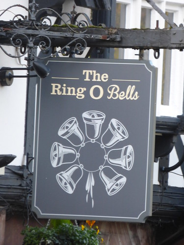 The Ring O Bells - Chester Road, Daresbury - pub sign