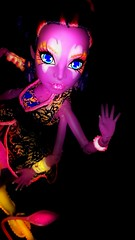 A Acquired Taste For Sure (Icky'sMarvel) Tags: favorite dark movie doll pretty arms dancer glowinthedark squid multiple glowing kala tentacles nailart giantsquid kraken monsterhigh greatscarrierreef kalamerri glowsome ghoulfish