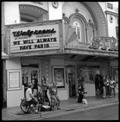 No. 20 - Strand Walgreens Key West (LANCEPHOTO) Tags: blackandwhite bw film square robot florida 35mmfilm keywest berning 24x24 concoction caffenol robotcamera robotstar25 labeauratoire caffenolconcoction film4life bigbrother640