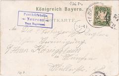 Neureuth-Haus, card (aniko e) Tags: mountains history handwriting hiking postcard stamp alpine card wandern tegernsee ansichtskarte kurrent kurrentschrift neureuthhaus