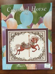 Teresa Wentzler Carousel Horse Seasons ~ Autumn (Pointe Shoes Punk Rock And Purl Pix) Tags: summer embroidery roundabout carousel series etsy merrygoround jumpers oop teresawentzler countedcrossstitch standers theseasons justcrossstitch keibdesignsknits