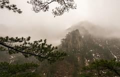 Seoraksan National Park (Skagos26) Tags: park winter mountain snow ice water rain weather fog frozen nikon rocks asia cloudy foggy korea rainy southkorea seoraksan fiver seoraksannationalpark d7100 1024mm