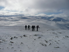 Final pull (brianandsusierobertson) Tags: winter hillwalking braemar morrone