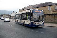 TLC Buses 14856 SN15 LRO 12th February 2016 Otley (1) (asdofdsa) Tags: travel bus buses transport busstop passengers westyorkshire tlc otley 12thfebruary2016leedsarea