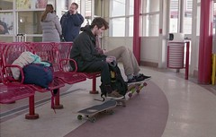 img102 (Pawel Bednarski) Tags: new york city nyc trip ny color film 35mm nj roadtrip journey 35mmfilm transit skateboards