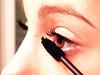 Make up (Morgane G.) Tags: girls black make up pencil bathroom eyes yeux miroir fille maquillage miror cils