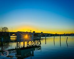 Sunset behind the Devon Bridge (Singing With Light) Tags: bridge november autumn sunset fall reflections photography cool cityhall sony ct milford 20th 2015 mirrorless devonbridge sonykitlens sony16mm28 lowerduckpond singingwithlight singingwithlightphotography alpha6000 sonya6000 lightjj