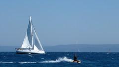 surfing_yacht (AnteKante) Tags: blue sea rat meer sailing wind yacht croatia surfing more das sailor horn blau bol brac goldene hrvatska cite dalmacija kroatien surfen cyte dalmatien plavo maestral zlatni vjetar surfanje