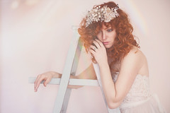 Daydream Mornings. 207/365 (aleah michele) Tags: morning pink wedding white color eye love angel bride rainbow eyes couple emotion bright lace pastel gorgeous dream calm romance dreaming dreamy 365 concept rainbows cupid wish lovely emotional conceptual redhair dreamer daydream heavenly lovey airy weddinggown lacedress curlyredhair 365project conceptualportrait pastelwedding styledshoot aleahmichele redhairbride aleahmichelephotography somethingbluebyleeandis leeandispurpleroses heavenlyheadpiece daydreamsaredangerous wishforthingsshecouldneverhave daydreammorning redheadedbride