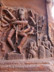 Dancing Shiva (Voyou Desoeuvre) Tags: india places badami