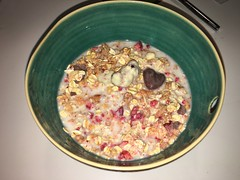 #185 Valentine's Day Granola (Like_the_Grand_Canyon) Tags: food breakfast essen msli mymuesli