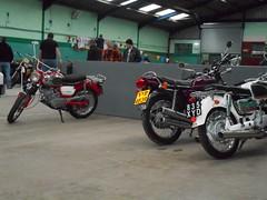 DSCN0275 (Nicola_R) Tags: bristol bike motorbike motorcycle show vjmc vintage honda suzuki yamaha b105p bearcat red trail enduro classic 1967