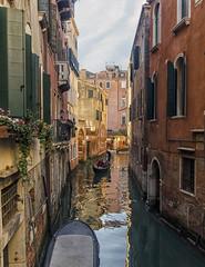 In Gondola (Fil.ippo) Tags: venice water canal cityscape angle gondola acqua hdr filippo canale sigma1020 d7000 filippobianchi