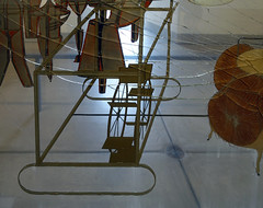 Duchamp, The Large Glass, detail with glider and water wheel