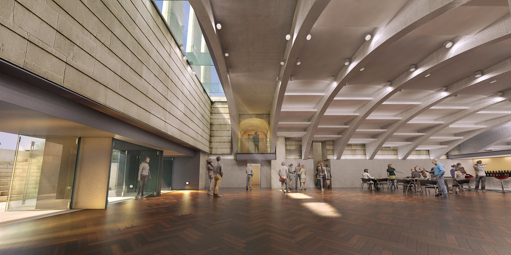 Richard Murphy Architects St Marys Music School Relocation To
