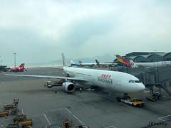 Dragonair ~ Airbus A330-343X ~ B-HYQ (jb tuohy) Tags: plane airplane hongkong airport aircraft aviation jet airline airbus dragonair hkg a330 jumbojet airliner avion widebody a333 bhyq