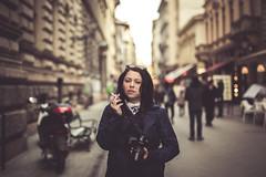 _MG_2187 (balintkafoto) Tags: people urban art girl canon 50mm hungary photographer smoke 14 budapest sigma f 6d
