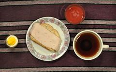 Frukost/Breakfast (ros-marie) Tags: breakfast tea egg te jos morgon ägg macka smörgås fotosondag flatlay fs160313