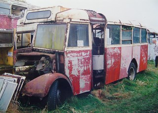 BUX 608 Bedford OWB Roe B32F