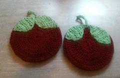 20160312_212727 (EadaoinFlynn) Tags: handmade crochet craft potholders