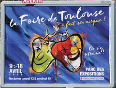 affiche Foire de Toulouse (gimbellet) Tags: canon pub nikon toulouse publicity publicit affiche rclame