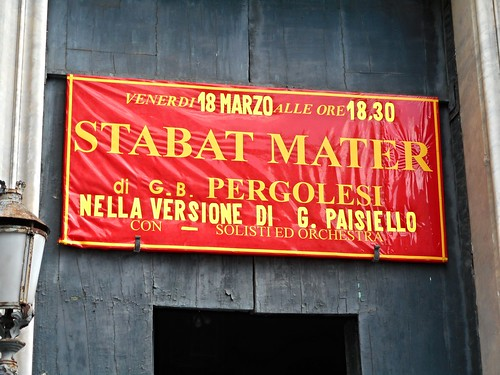 """Stabat Mater"" by Giambattista Pergolesi (1735) - Version by Giovanni Paisiello (1810) - San Ferdinando Church in Naples"
