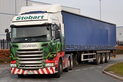 Stobart H6971 PF14 LDN Suzanne Emma at Appleton 26/2/16 (CraigPatrick24) Tags: road truck cab transport tesco lorry delivery vehicle trailer scania logistics appleton stobart eddiestobart curtainsider stobartgroup scaniar450 tescocurtainsider suzanneemma h6971 pf14ldn