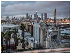 sixth street, los angeles (fhoerr) Tags: bridge sunset sky weather river concrete outdoors losangeles twilight cityscape downtownla dtla rebar atdusk losangelesriver sixthstreet lariver downtownlosangeles eastla d610 boyleheights laskyline fhoerrx fredhoerr fhoerr