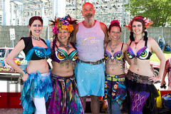 Babes and Mitch (Paul McRae (Delta Niner)) Tags: bellydancer triballillies mitchellclemens wednesdayclemens