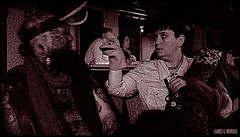 Puppet encounter (James Mundie) Tags: festival puppet neworleans convention duotone sockpuppet sideshow handpuppet mundie copyrightprotected jamesmundie jamesgmundie profjasmundie jimmundie copyrightjamesgmundieallrightsreserved southernsideshowhootenanny