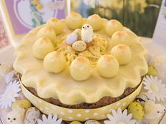 Simnel cake (James E. Petts) Tags: flowers bunnies cake easter baking chocolate eggs marzipan simnelcake simnel