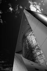 Modern Architecture (leguico) Tags: blackandwhite bw black building architecture blackwhite dubai outdoor architectural explore