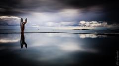 Plongeoir (Ludovic Lagadec) Tags: longexposure morning mer beach canon landscape brittany marin bretagne breizh paysage plage manche saintmalo piscine matin swimingpool mare poselongue saintquayportrieux bretagnenord bw110 canon6d ludoviclagadec dimamanuel