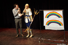 Rainbows make her sad (Red Cathedral is alive) Tags: anime cosplay convention bozar bifff eventcoverage brusselsinternationalfestivaloffantasticfilm aztektv