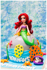 IMG_0911 (liox0001) Tags: birthday ariel cake mermaid littlemermaid   arielcake mermaidcake