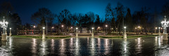 Parcul Central ( Cluj ) (Lucian Nuță) Tags: park lake rain night nikon central casino cluj napoca clujnapoca 2016 parcul d7100