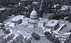 East View of Capitol from about 2,500 ft. by E. J. Brown - 1923 (SSAVE w/ over 5 MILLION views THX) Tags: washingtondc snapshot aerial eastside 1923 uscapitolbuilding eastview